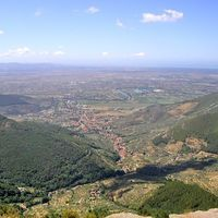 Calci - veduta panoramica